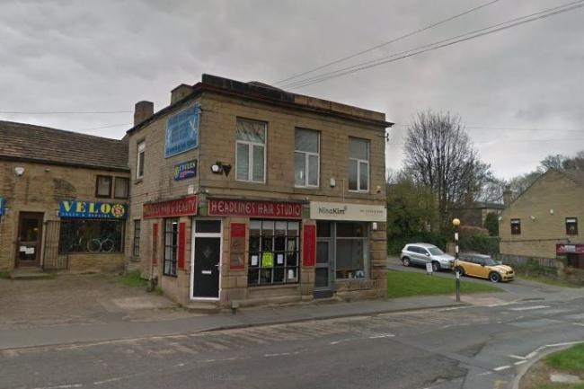 Plans to turn a former hairdressers on Westgate in Cleckheaton into a dog grooming salon have been passed. Picture: Google Street View
