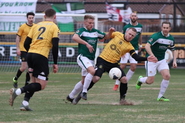 Despite letting two leads slip, Bradford gained a 3-3 draw with Southport after a late equaliser at Haig Avenue Picture John Rhodes
