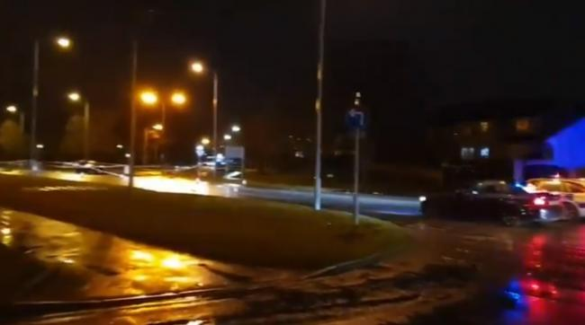 The crash is reported to have happened on Halifax Road, at its junction with Netherlands Avenue.