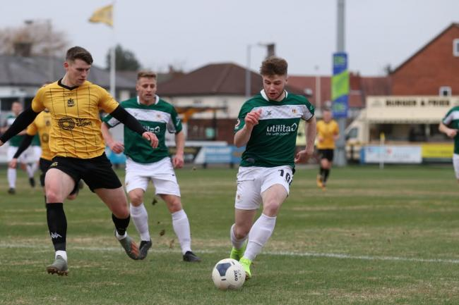 Lewis Knight is Avenue's top scorer with five league goals to his name Picture John Rhodes