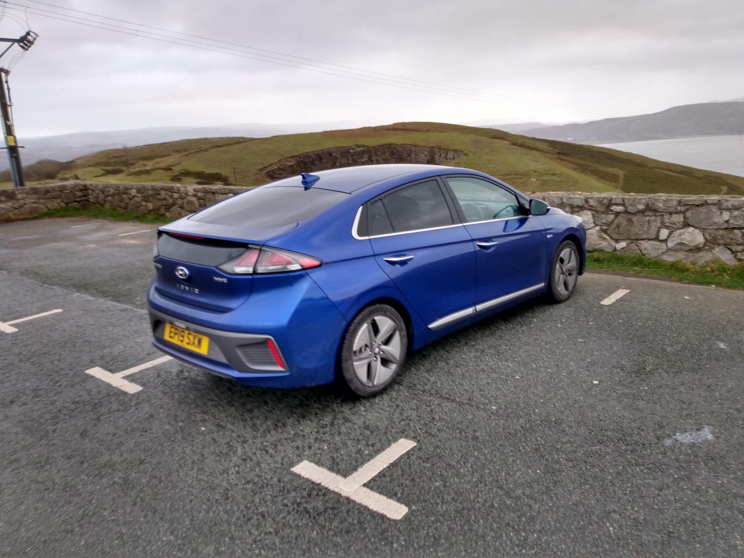 Car Review Hyundai Ioniq Hybrid Bradford Telegraph And Argus