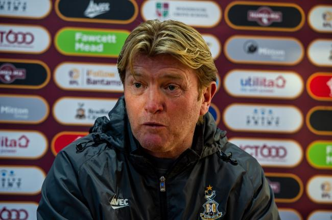 Stuart McCall says it is difficult to start making plans for his squad for next season. Pic: Tom Pearson