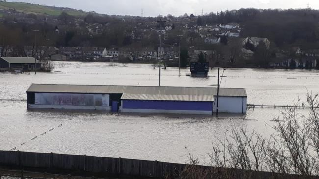 Flooding at Bradford & Bingley's Wagon Lane ground has meant the Bees have had to switch venue