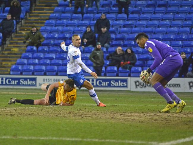 James Vaughan has returned to Tranmere, where he finished last season on loan