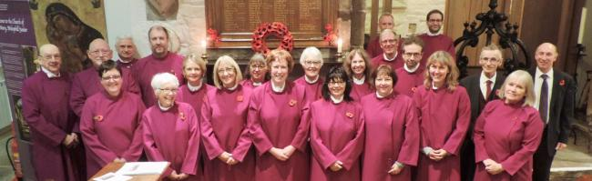 Heritage choir at Bradford Cathedral