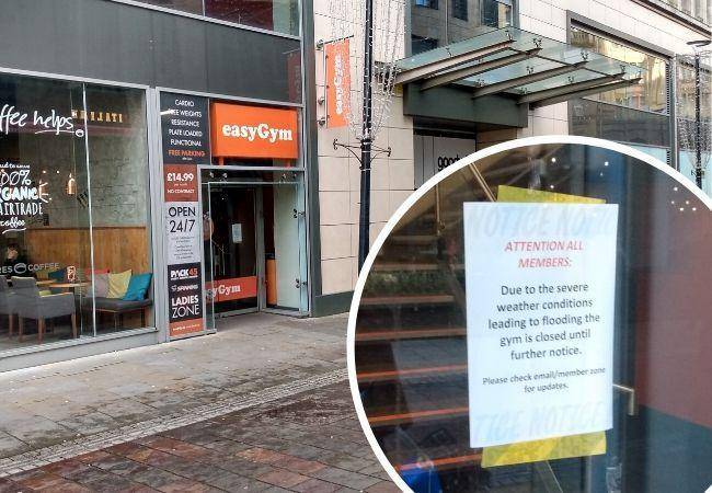 Gym to reopen after emergency closure lasting over a week