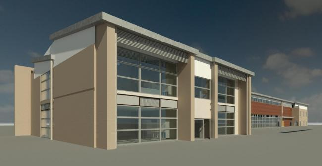 An artist's impression of the planned new Silsden Primary School