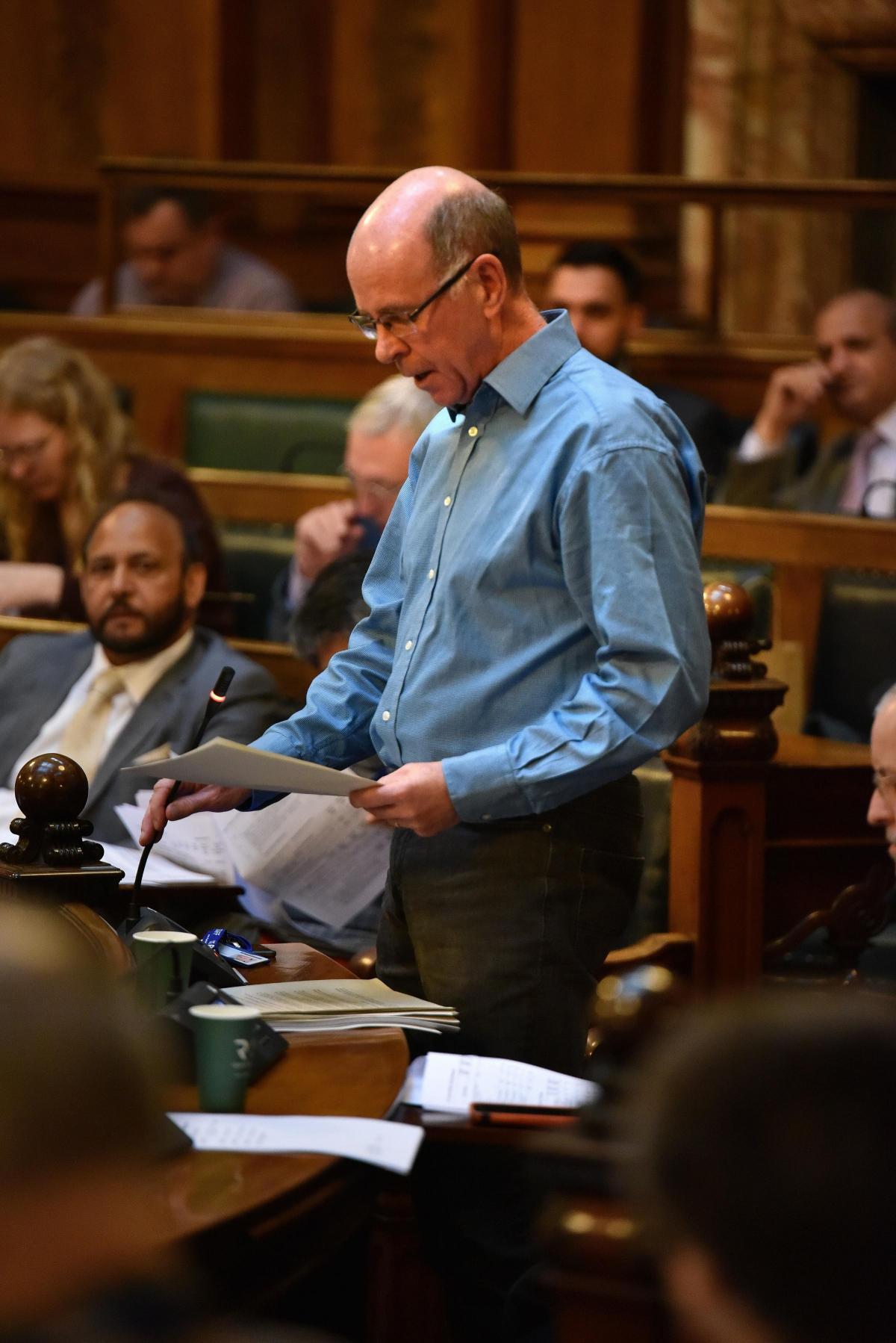 Councillor Martin Love (photo from Bradford Telegraph and Argus)