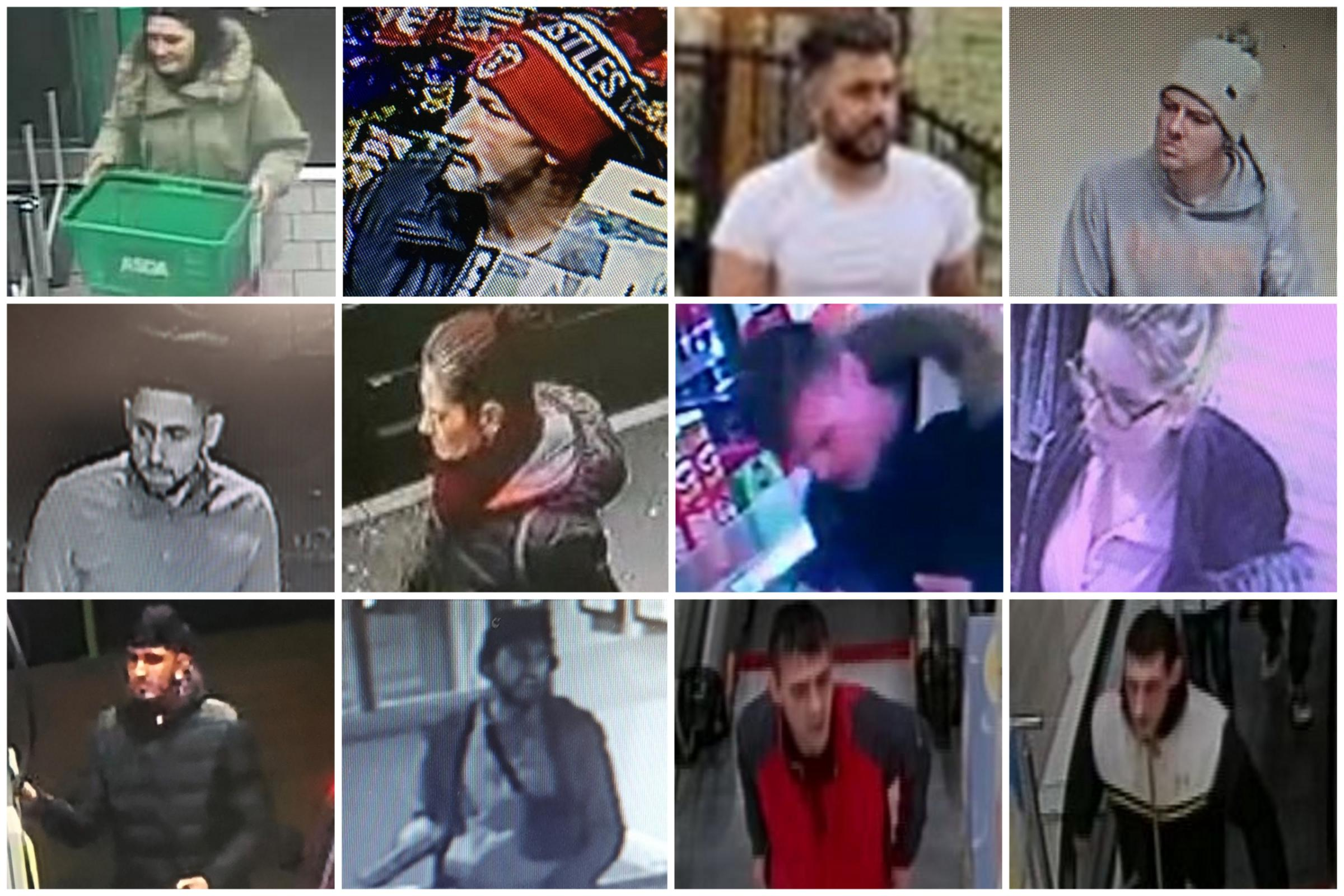 CAUGHT ON CAMERA: Police release images of people they would like to speak to