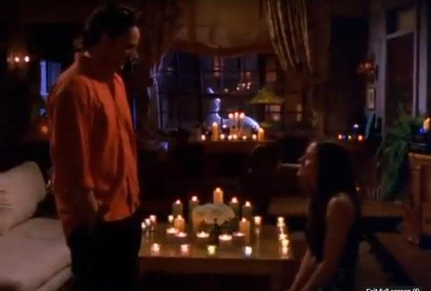 Bradford Telegraph and Argus: Monica proposes to Chandler in Friends. Credit: Youtube