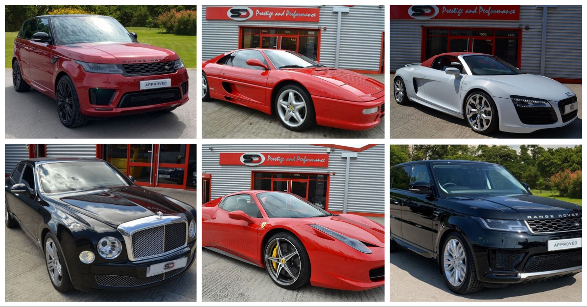 The most expensive supercars for sale in Bradford