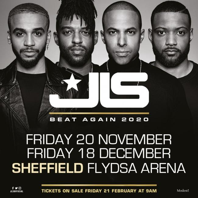 JLS are back on the road