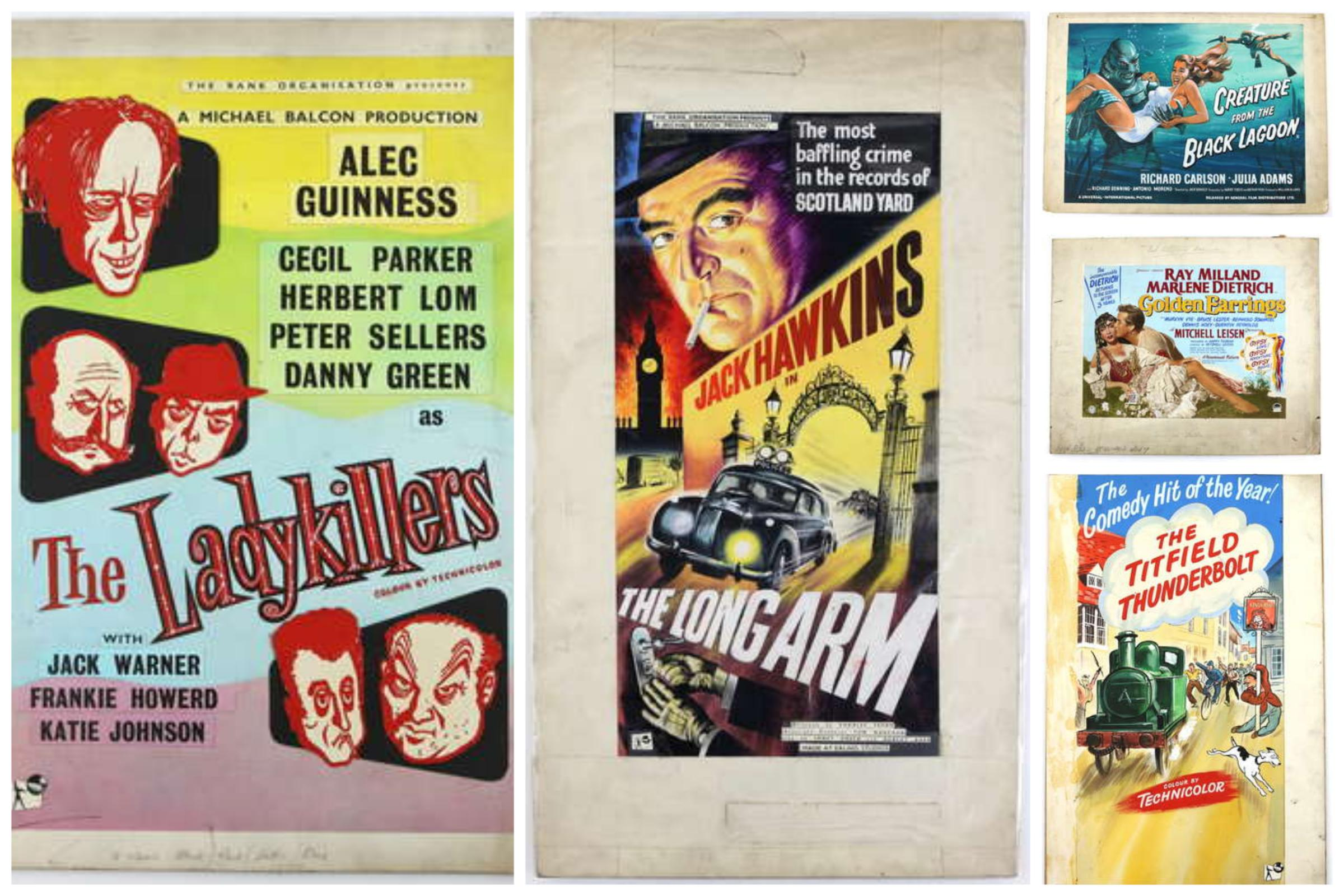 Original film posters from iconic Bradford printing house up for auction