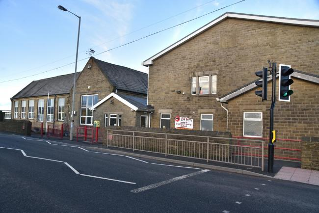 Foxhill Primary School in Queensbury is closed today