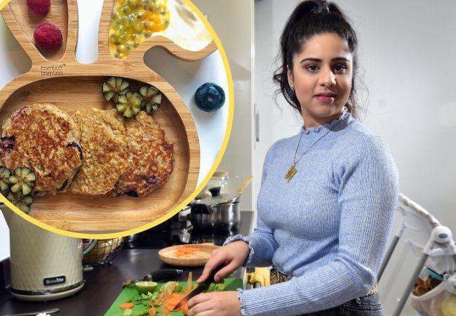 Nabeelah's recipe of the week: Blueberry and banana pancakes