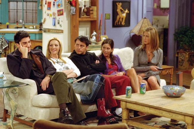 David Schwimmer, Lisa Kudrow, Matt LeBlanc, Courteney Cox and Jennifer Aniston are set to reunite for a one-off special. Photo: Channel 4 Picture Publicity