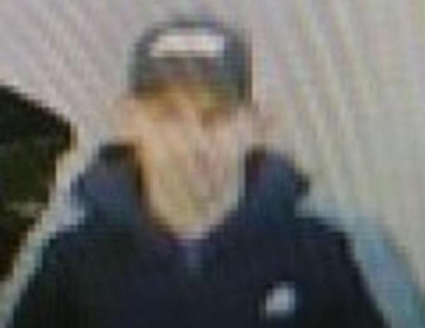 Can you help police identify this person in relation to a theft?