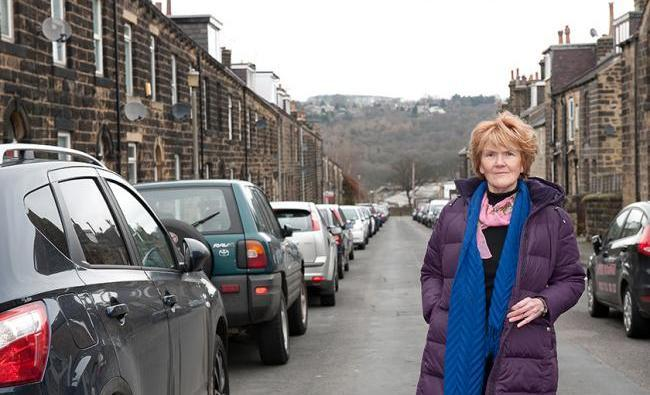 Councillor Anne Hawkesworth, pictured in Wellington Road, Ilkley, says the Council 'win either way'