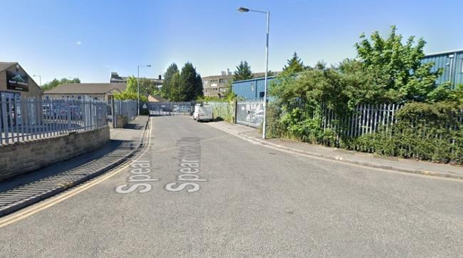 The road on Lawkholme Lane business park - image from Google Street View