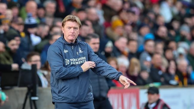 Stuart McCall would accept playing behind closed doors if it was the best option