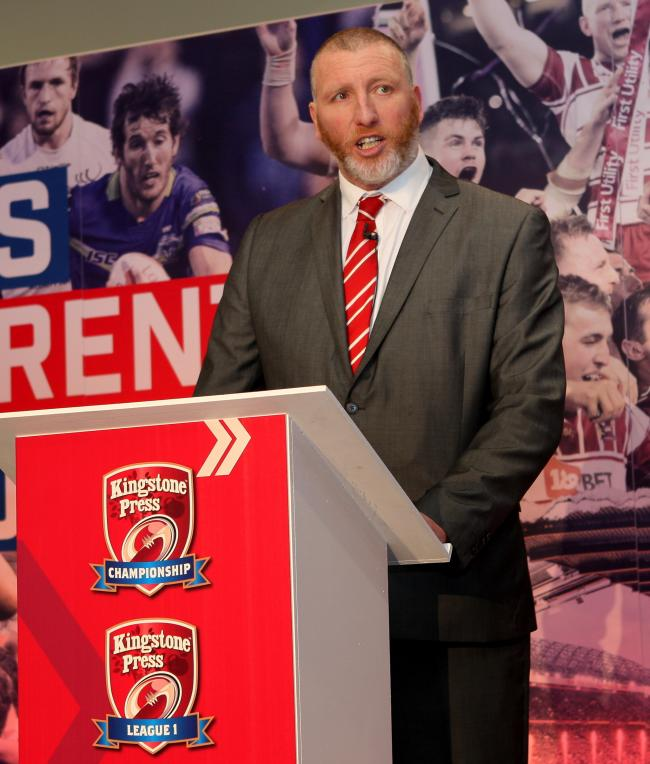 RFL chief executive Ralph Rimmer does not expect the season to recommence on April 3. Picture: Bill Watkinson