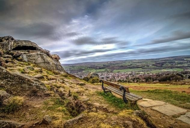 Ilkley Moor. Photo by David Stocks