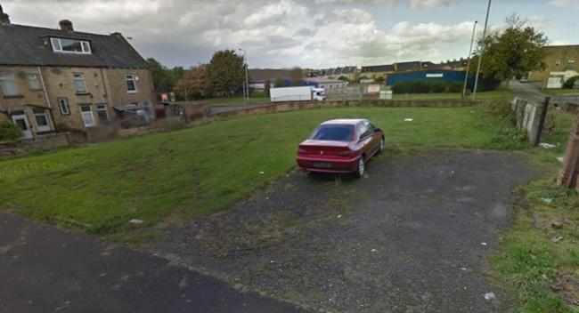 The site of theproposed industrial unit on Wakefield Road - image from Google Street View