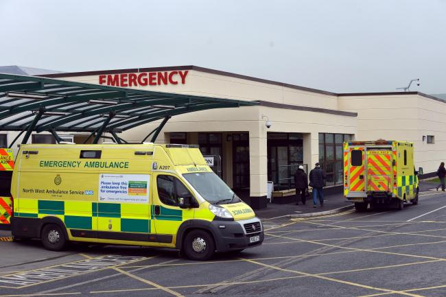 Airedale Hospital where a Care for Airedale campaign has been launched