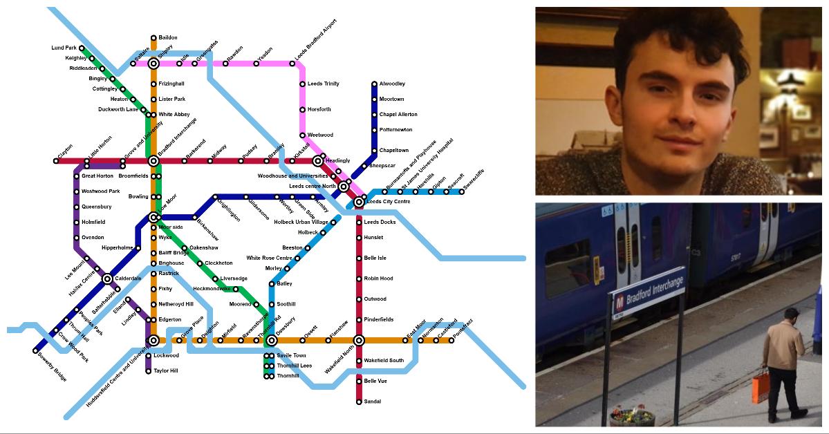 Mind The Gap: Student's £100bn plan for West Yorks Underground
