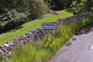 Burnsall, where residents reported a suspected quad thief