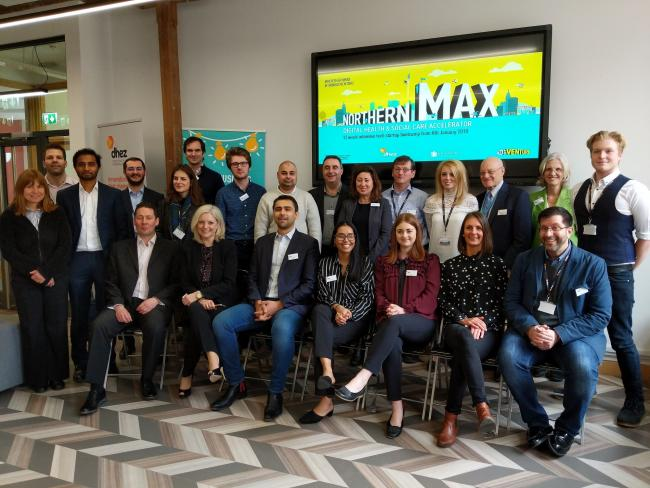 Staff from the free business support programme Northern Max