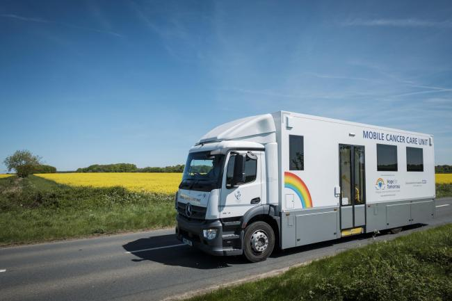 The mobile cancer care unit