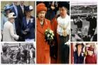 From 1954 to 2012 - when The Queen came to the Bradford district