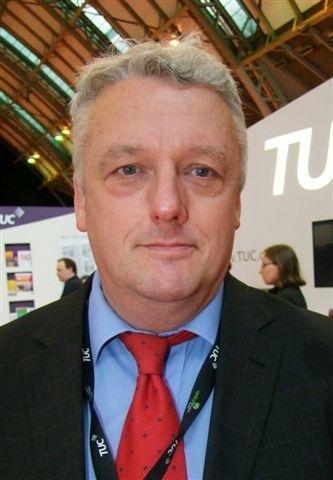 TUC Regional Secretary Bill Adams