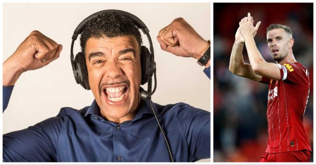 Chris Kamara, left, has backed the Players Together scheme, launched by the likes of Liverpool's Jordan Henderson, right