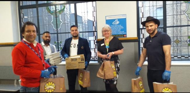 Another Bradford business rallies to deliver food to frontline BRI workers