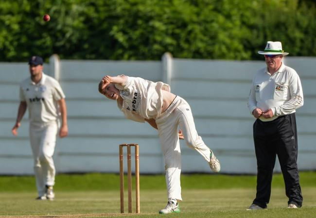 Yorkshire bowler James Logan made some real progress in pre-season, thanks to specialist spinners trip to India Picture: Ray Spencer