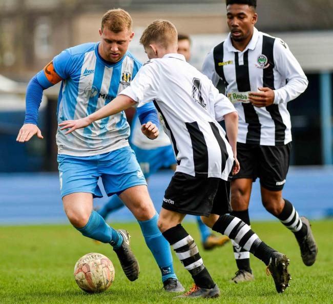 Defender Sam Bradley captained Eccleshill before he made the move to Dubai Picture: Andy Garbutt