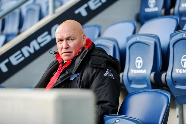 John Kear does not expect any fans to be allowed in if rugby can resume. Picture: Tom Pearson