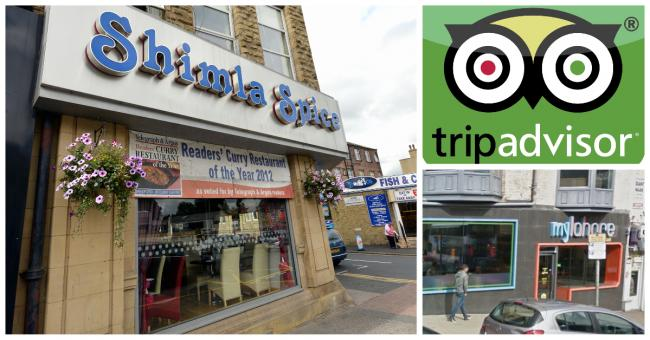 Six of Bradford's best delivery restaurants, according to reviews on Trip Advisor