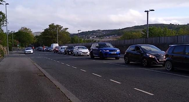 WATCH: Queues as some Bradford tips re-open after shutting at the end of March