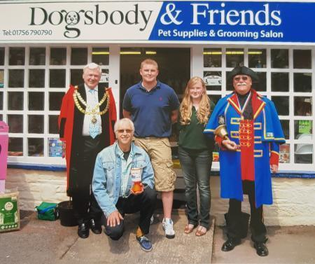 The 2010 opening of Dogsbody & Friends run by Andrew and Emma Stead