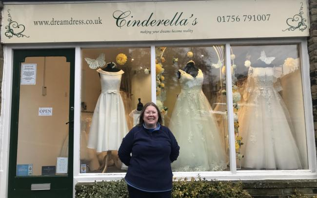 Mandy Abramson, owner of High Corn Mill based Cinderella's