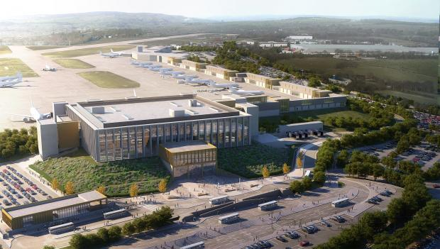 Environmental groups and local campaigners speak out against airport plans