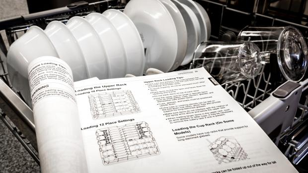 Bradford Telegraph and Argus: Find your dishwasher's user manual, and use it. Yeah, it's not a compelling read, but it will show you the best ways to load. And if anything ever goes wrong, the manual will help you troubleshoot. Credit: Reviewed / Jonathan Chan