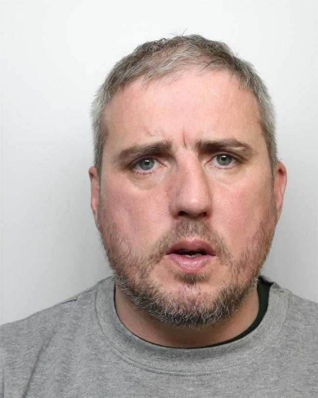 Hanrahan, pictured, was jailed at Bradford Crown Court yesterday