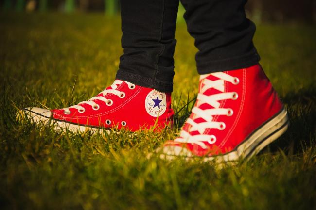 CONVERSE: How to design your own custom pairs of Converse, Nike, Vans and Timberland. Picture: Pixabay
