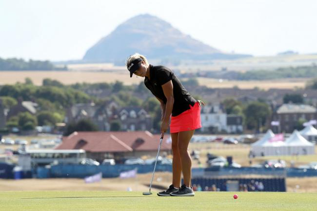 Carly Booth is a talented Scottish golfer who plays on the Ladies European Tour, and she will be coming to Cleckheaton & District Golf Club next month Picture: Jane Barlow/PA Wire