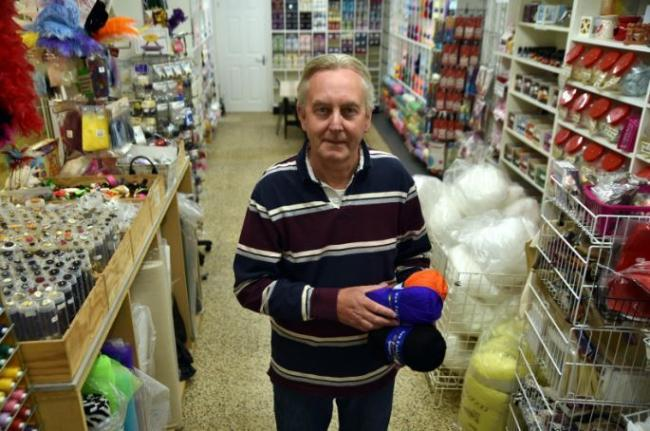 Shipley Underground Market gets wool back thanks to Graham and Linda Preston
