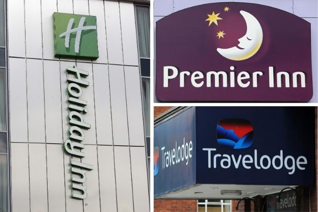 Premier Inn, Travelodge and Holiday Inn issue update on strict rules for guests